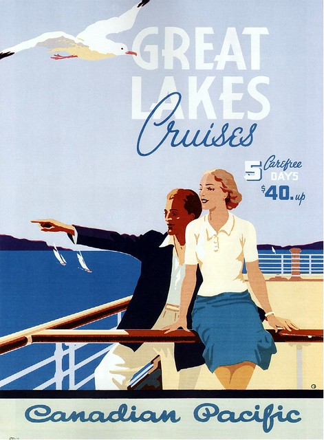 Norman Fraser. Great Lakes Cruises. 1939