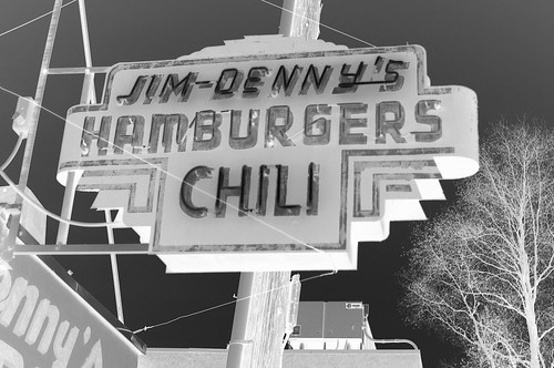 Jim-Denny's Chili Served Cold