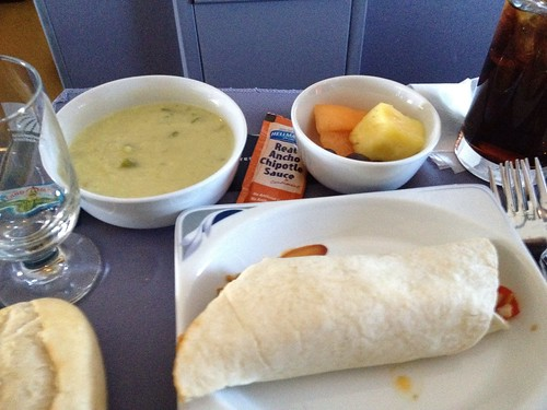 New United First Class Lunch Service