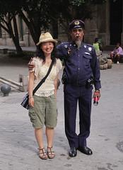 Fake police man