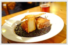 Food in the pub - 'Pork Belly'
