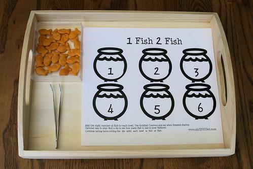 1 Fish 2 Fish Counting Tray