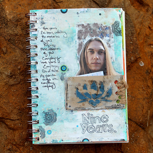 Nine Years - A Year in the Life of an Art Journal.