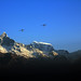 Mount Machhapuchhre and Early morning flights