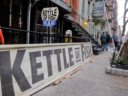 "On the set of the Coen brothers' ""Inside Llewyn Davis"", East 9th Street, Kettle of Fish"