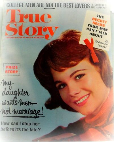 True Story Magazine cover