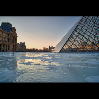 Louvre on ice