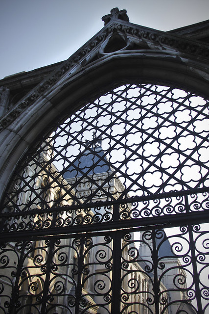 Gate - Royal Courts of Justice
