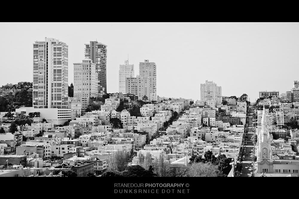 San Francisco, Ca B&W.