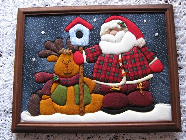 cuadros de navidad en patchwork imagui