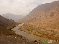 Iran-Azerbaijan Border Near Jolfa