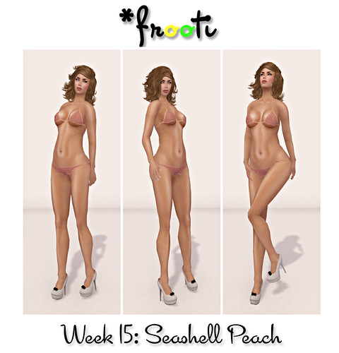 *Frooti - 52 WoC - Seashell Peach