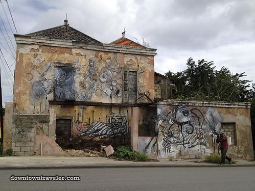 Curacao Caribbean Street Art Shell Oil 02