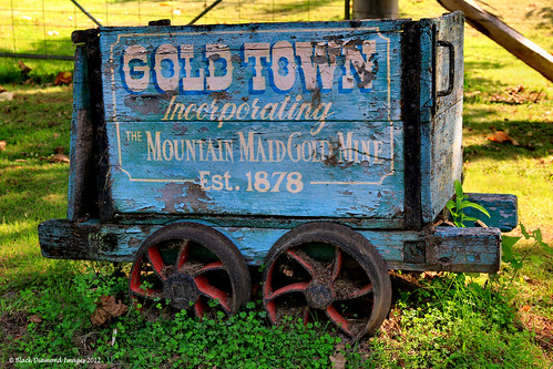 Mountain Maid Gold Mine, Ore Trolley - Copeland, Gloucester, NSW, Australia
