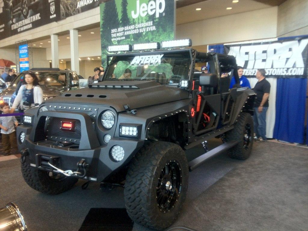 NY Auto Show Insane Jeep