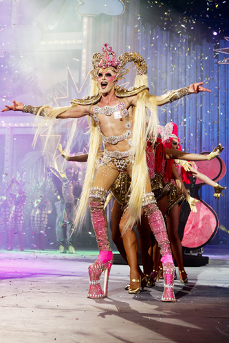 Reina Drag Queen Las Palmas de Gran Canaria 'Drag Kuki'