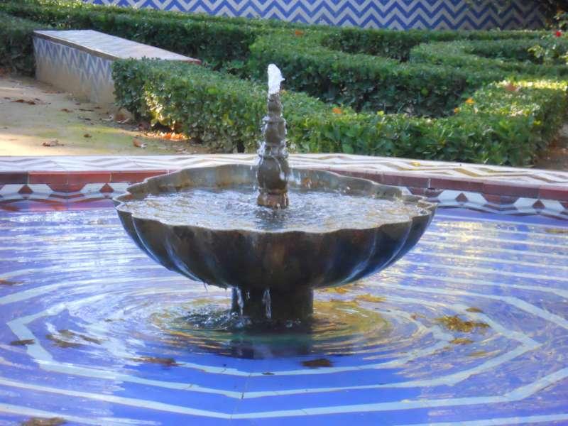 Fuente en Parque María Luisa Sevilla
