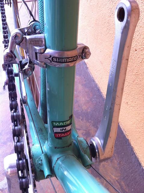 Craigslistvintagebikehunt 1982 56 Cm Celeste Green Bianchi Alloro Road Bike 500 Midtown