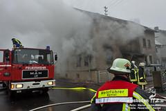Gebäudebrand Heidenrod-Kemel 18.02.12