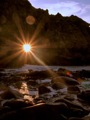 Pfeiffer Beach Sunset - February 18, 2012