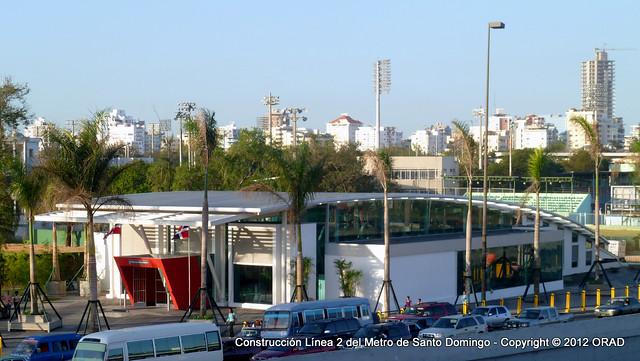 MSD - L2 - Estación 14 - Transferencia entre Líneas 1 y 2