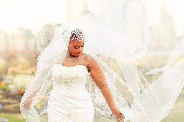 Bridal Styles Bride Patrice,  Cathedral veil