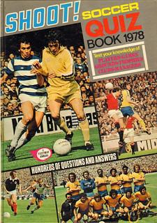Shoot football quiz book 1978