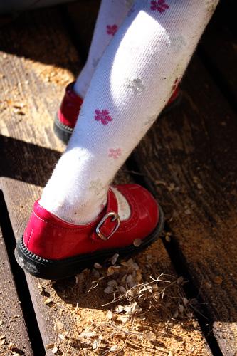 sandy-shoes