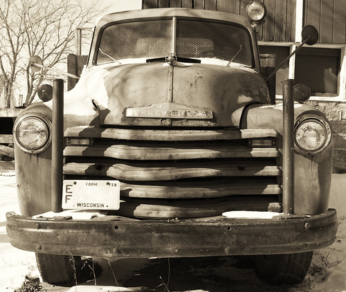 Old Solar Harvest Truck by Ricky L. Jones Photography