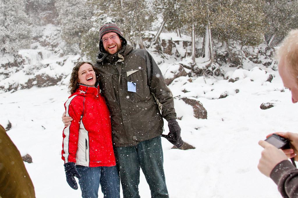 Erin & Jachin at Gooseberry Falls