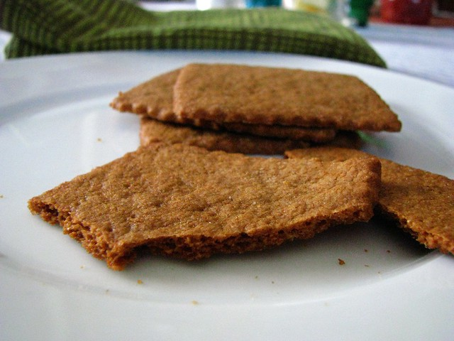 sprouted wheat graham crackers