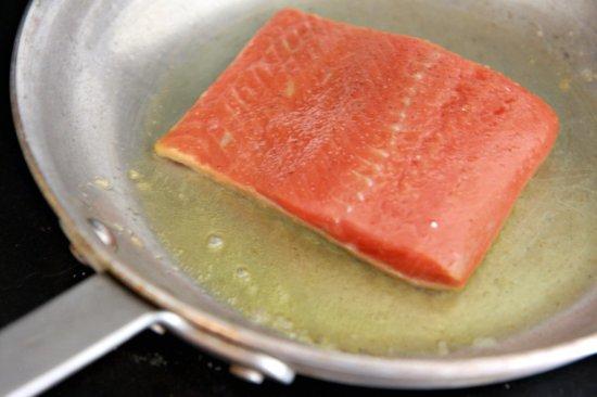 Crispy Skin Honey Soy Salmon