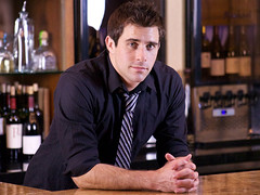 Mixologist Chris Parke