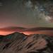 Lenticular Mountain Milky Way by Mike Berenson - Colorado Captures