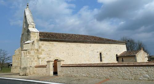 Caubon Saint Sauveur - L'Eglise de Saint Sauveur 02