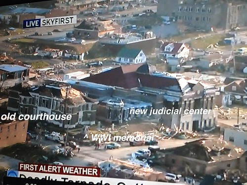 Tornado Damage - West Liberty, Ky.