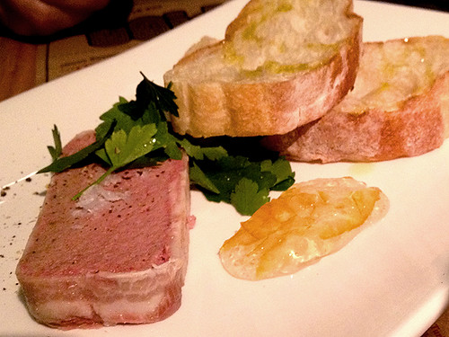 Pork liver pâté at Pigg, Umamicatessen