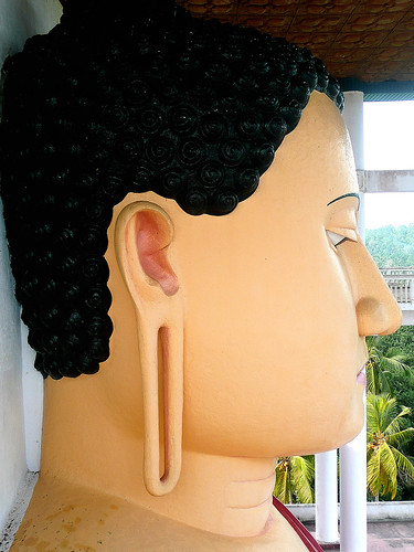 Buddha Head @ Weherahena Temple, Matara