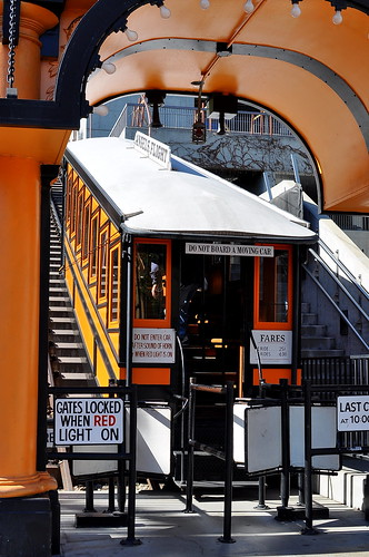 Angels Flight Railway - Los Angeles