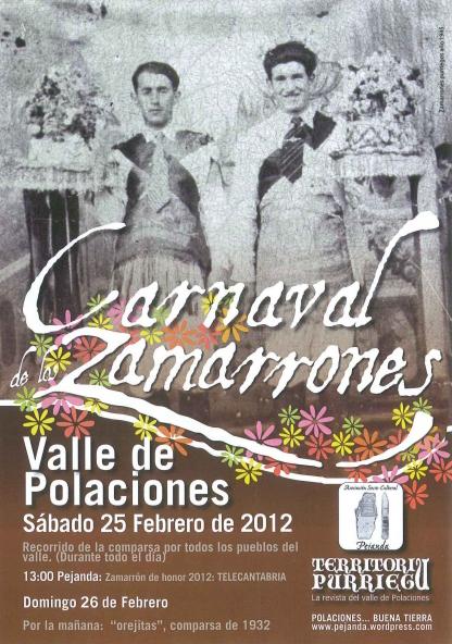 Cartel Zamarrones 2012