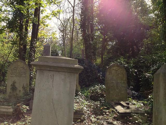 Header of Abney Park Cemetery