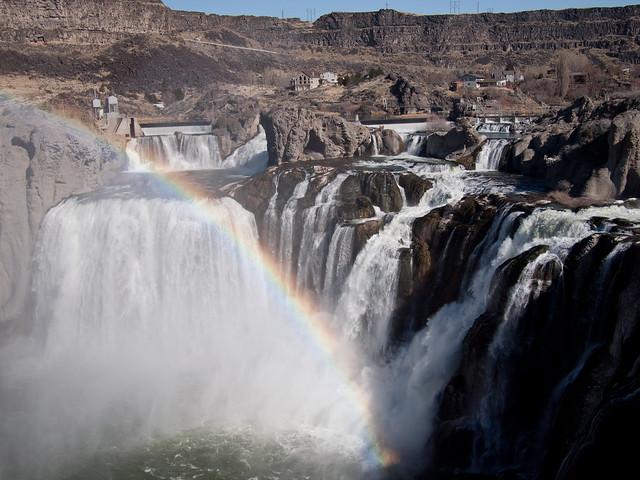 Rainbow, Shoshone Falls, Idaho