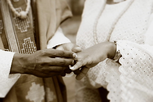 Yoruba traditional wedding (Nigeria)