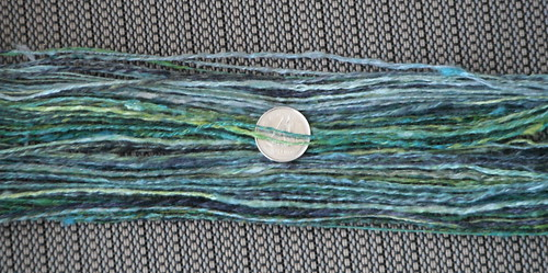 lace weight silk - chain plied