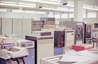 Computer room 1981