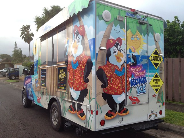Kona Ice Truck The First Kona Ice Franchise On Oahu Is