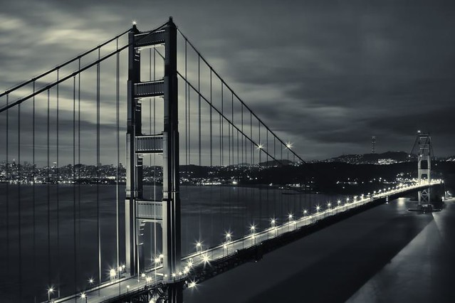 San Francisco Bridge Sunrise