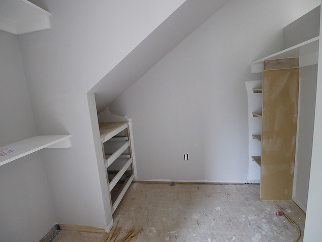 upper level closet