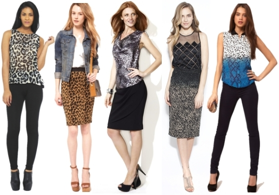 Tips for animal print