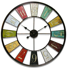 wall clock, line, clock, circle, stained glass,